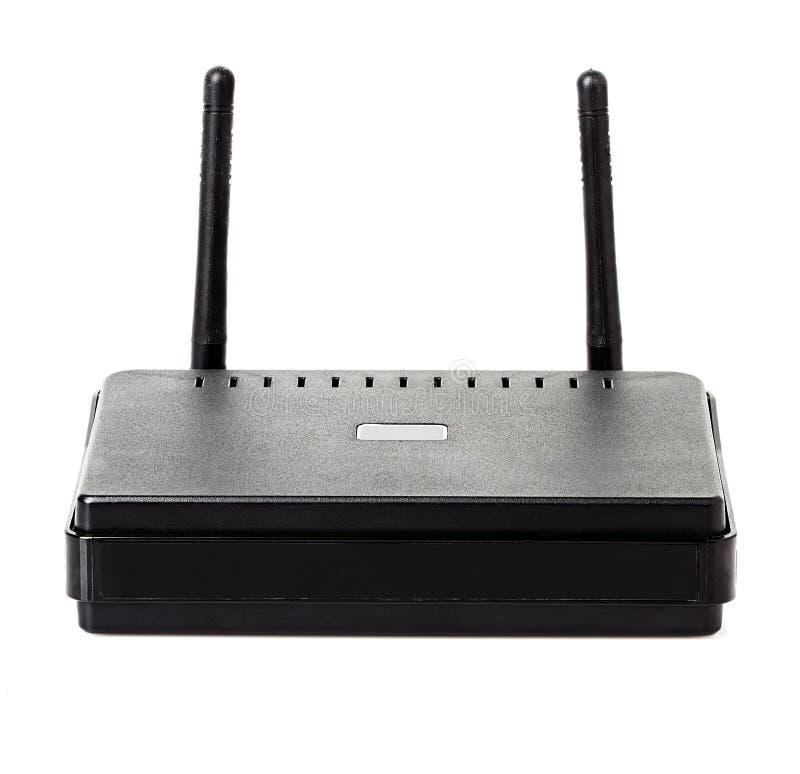Wi-Firouternahaufnahme lizenzfreies stockbild