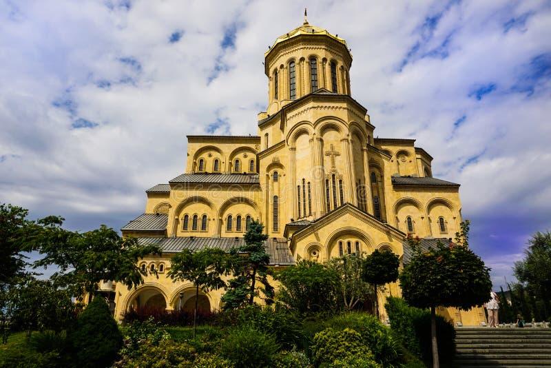 ?wi?tej tr?jcy katedra Tbilisi, Gruzja royalty ilustracja