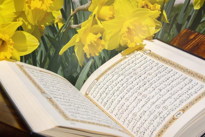?wi?ty koran - Islamska ?wi?ta ksi?ga obrazy royalty free