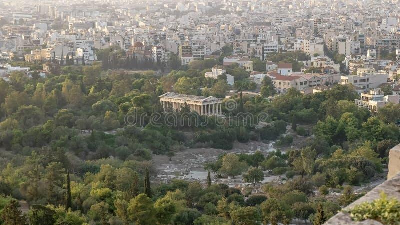 ?wi?tynia Hephaestus w Ateny, Grecja obraz stock