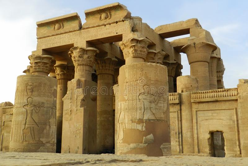 ?wi?tynia Horus przy Edfu, Egipt obraz stock