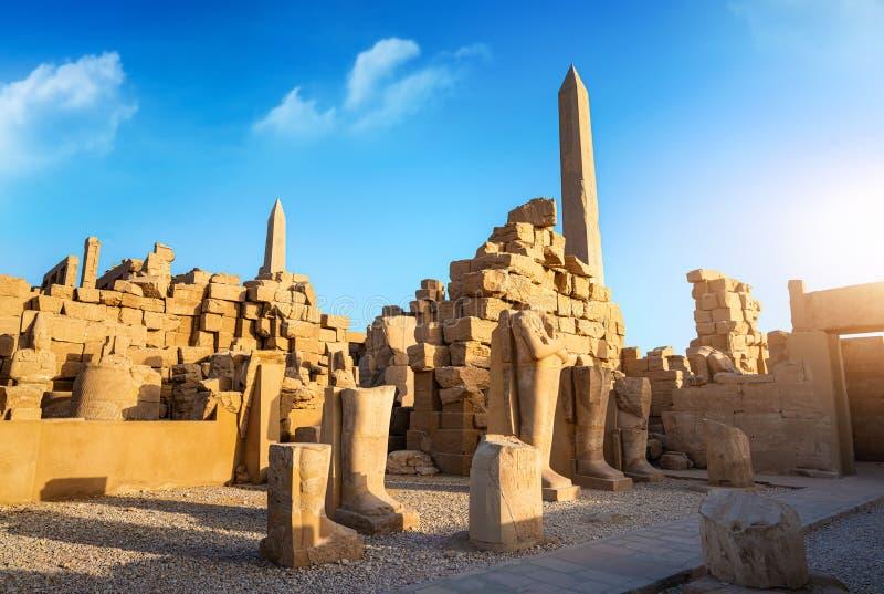 ?wi?tynia Luxor zdjęcia stock