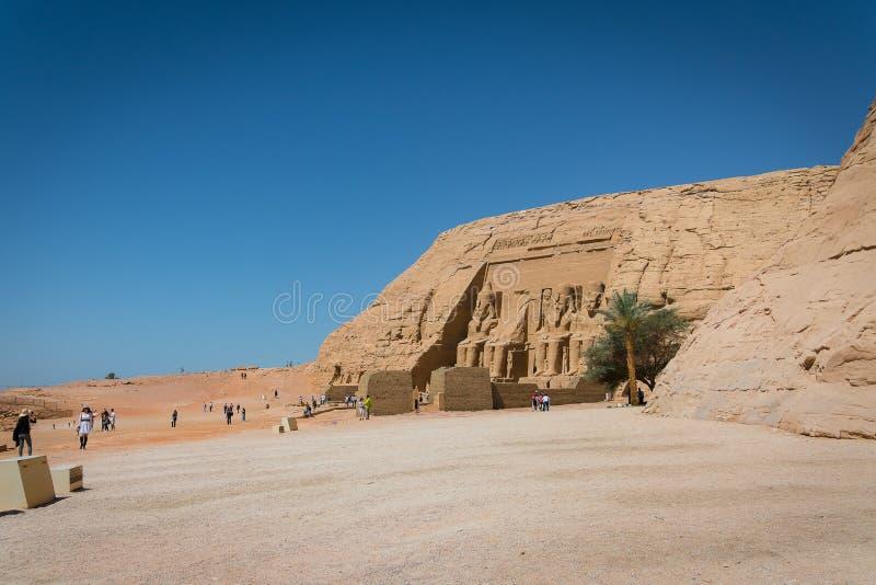 ?wi?tynia Ramses II zdjęcie stock