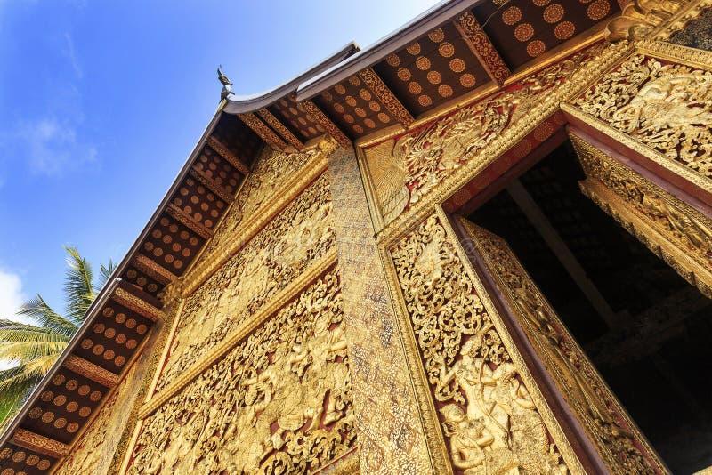 ?wi?tynia w Luang prabang Laos obrazy royalty free