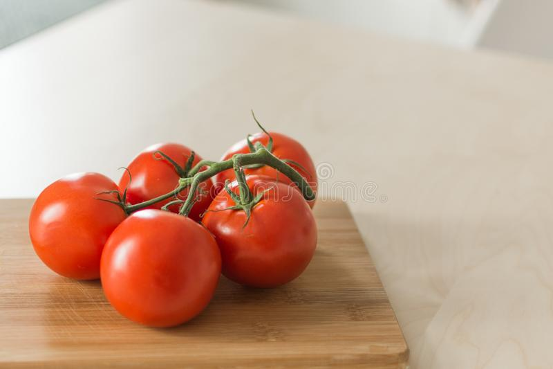 Wi?zka czerwony pomidor zdjęcie stock