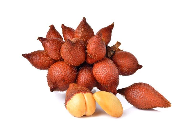 Download Wiązka Salacca Owoc Na Bielu Zdjęcie Stock - Obraz złożonej z odżywczy, desery: 53786768