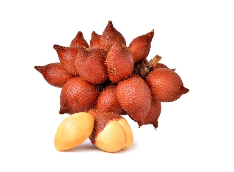 Download Wiązka Salacca Owoc Na Bielu Zdjęcie Stock - Obraz złożonej z brąz, azjata: 53786876