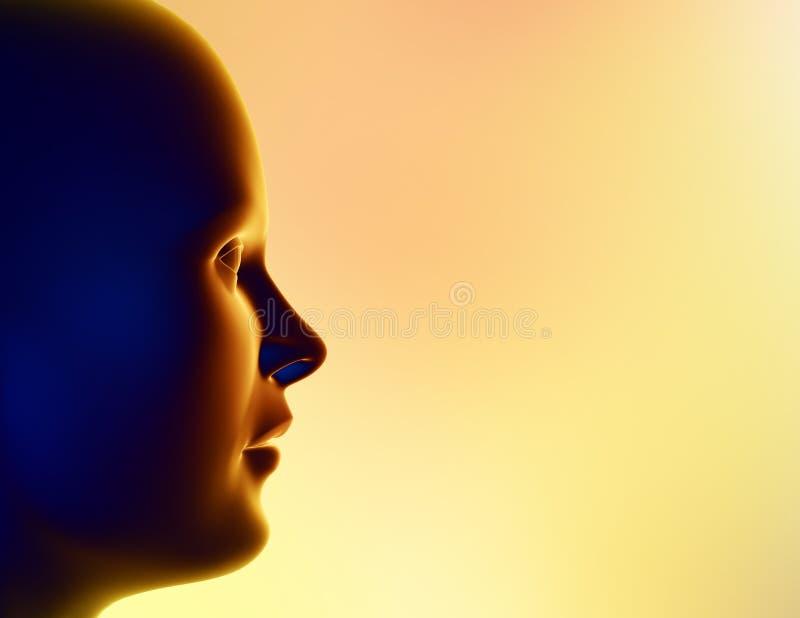 Download Wiadomość. ilustracji. Ilustracja złożonej z mózg, pojęcie - 141402