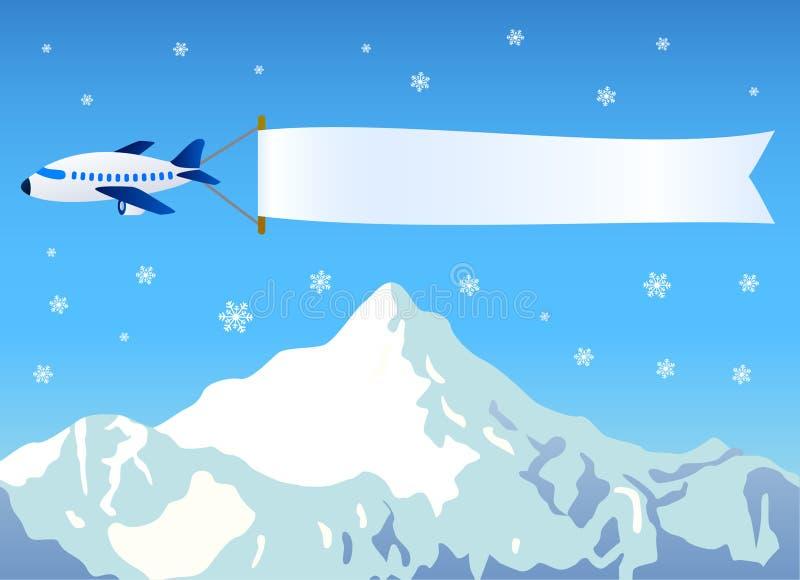 wiadomość samoloty ilustracji