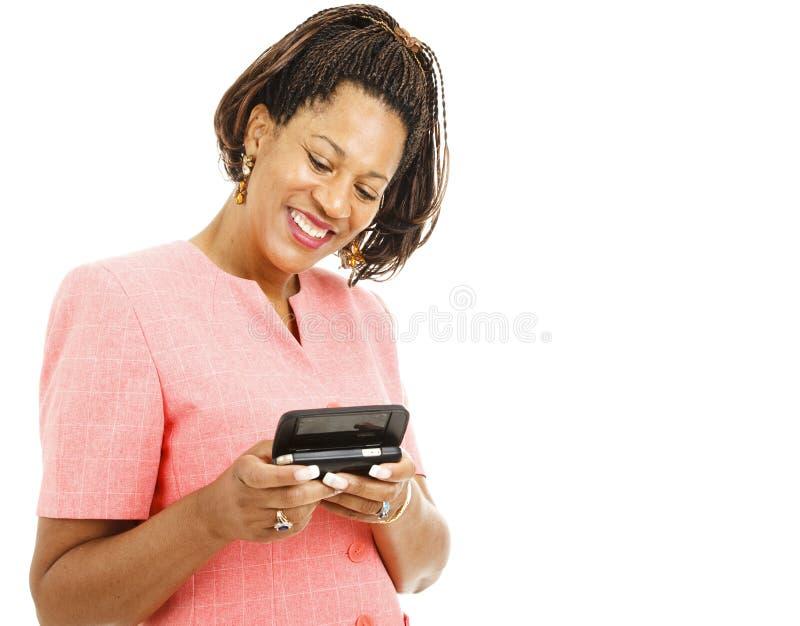 wiadomość wysyła tekst kobiety zdjęcia royalty free
