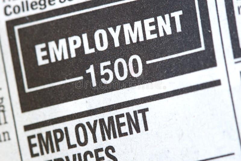 wiadomości bezrobocie zdjęcia royalty free