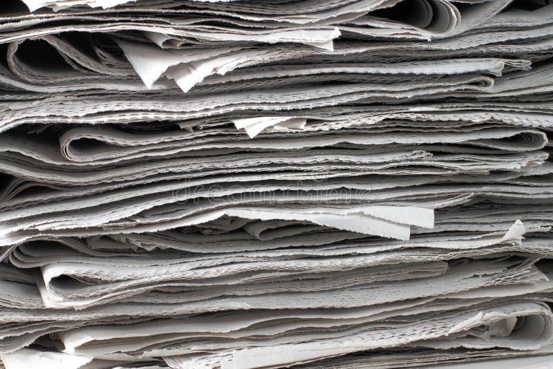 wiadomości papierów tekstura obraz royalty free