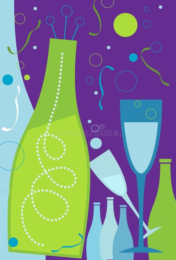 wiadomości purpurowi tematu rok ilustracji