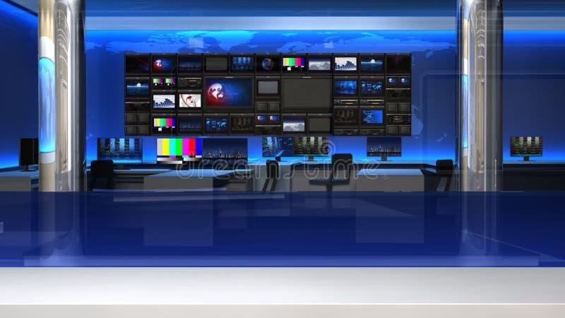 Wiadomości studio 101C1 (pchnięcie) ilustracji