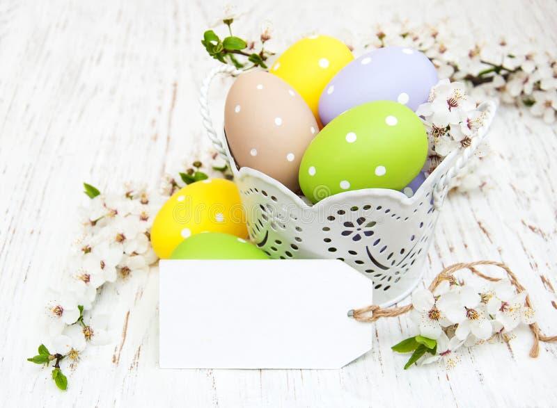 wiadra Easter jajka obrazy stock