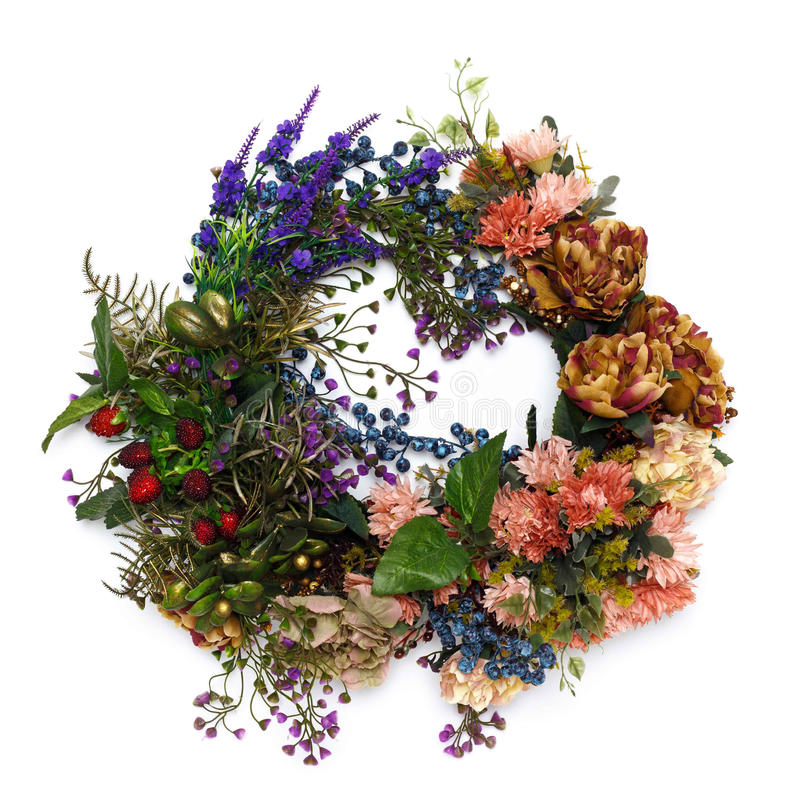Wianek kwiat zdjęcie royalty free