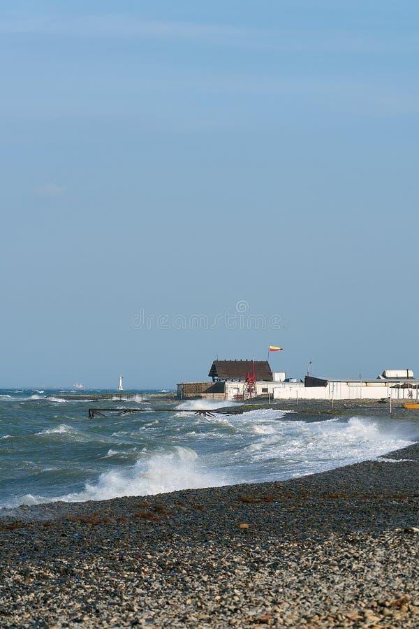 Wiatr i burza fotografia stock