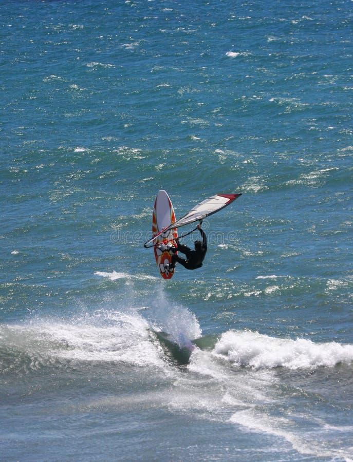 wiatr surfera obrazy stock