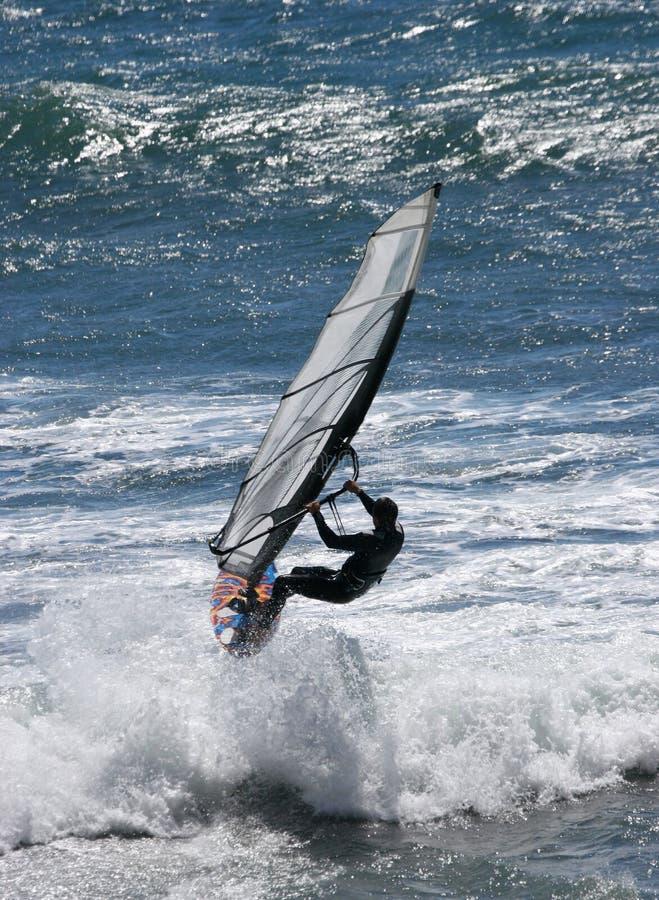 wiatr surfera obrazy royalty free