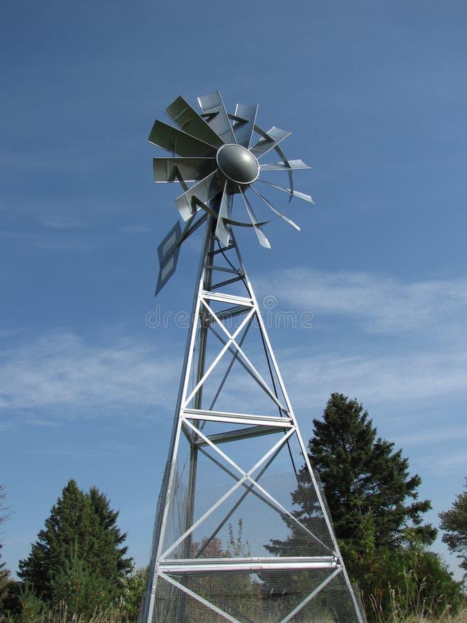wiatraczek wielo- stalowy wiatraczek zdjęcie stock