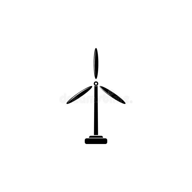 Wiatraczków elektrów Młyńska ikona Szczegółowa ikona ekologia podpisuje ikonę Premii ilości graficzny projekt Jeden inkasowa ikon royalty ilustracja