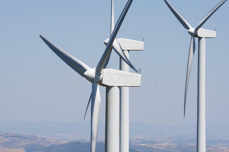 Wiatrowa energia zdjęcie stock