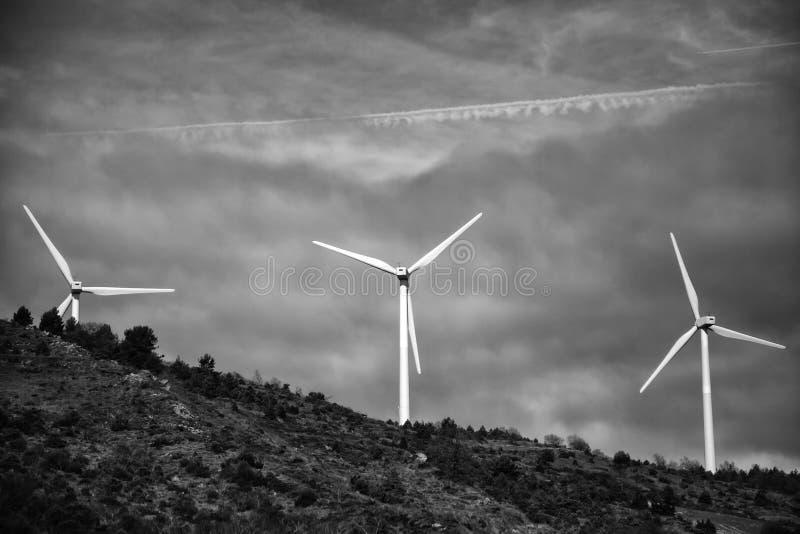 Wiatrowa elektryczno?? naturalna obraz royalty free