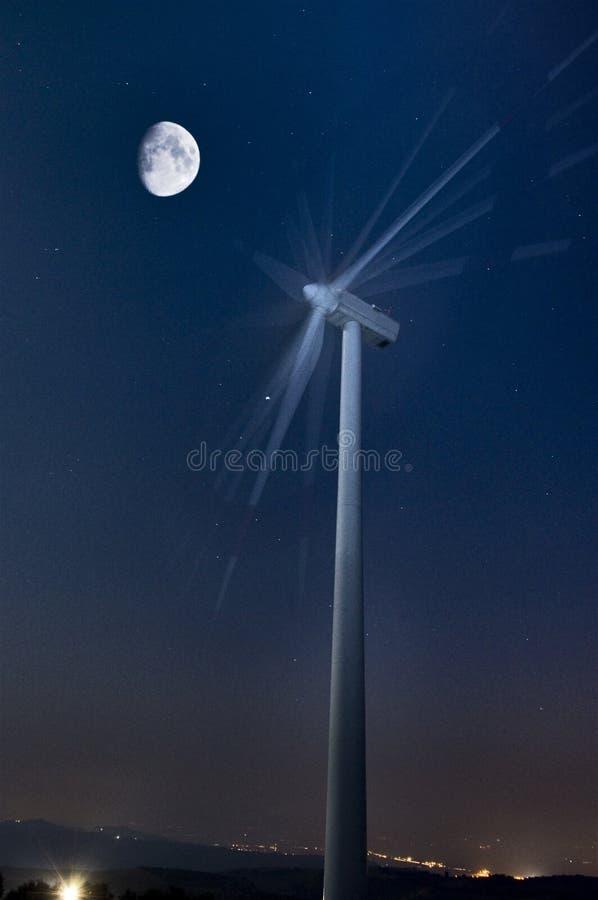 Wiatrowa energia obraz royalty free