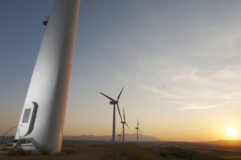 Wiatrowa energia fotografia royalty free