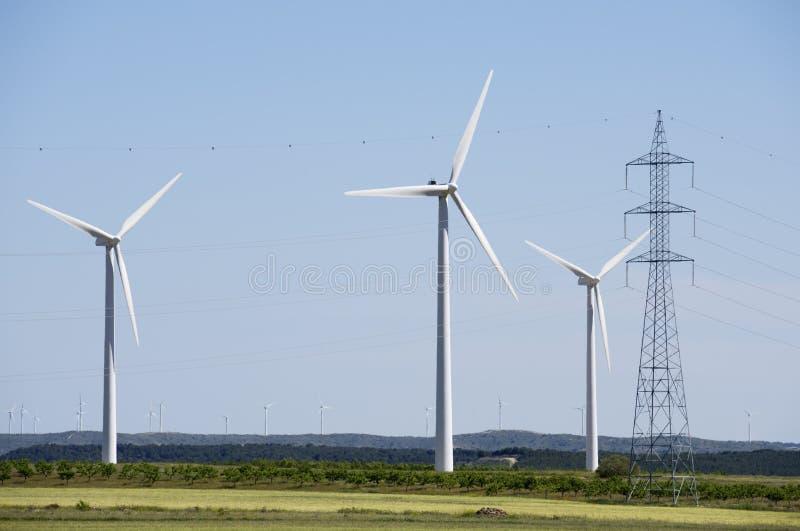 Wiatrowa energia obraz stock