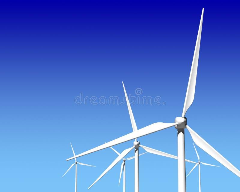 Download Wiatrowego Generatoru Turbina Nad Niebieskim Niebem Obraz Stock - Obraz złożonej z innowacja, odnawialny: 28955291