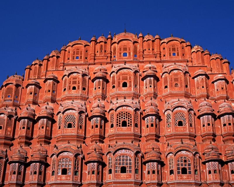 Wiatrowy Pałac, Jaipur, India. fotografia stock