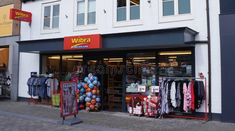 Wibra dyskontowy sklep w holandiach obraz royalty free