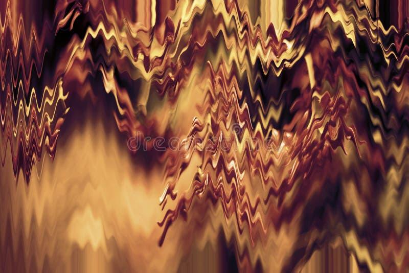 Wibrująca textured jaskrawa tapeta Zmroku miedziany cyfrowy papier Dobry dla rzemiosła, prezent, tło, wystrój & tematy, ilustracja wektor