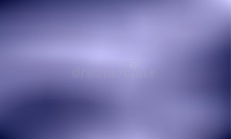 Wibrujący zmrok - błękit, fiołkowy gradientowy tło Stylowy 80s - 90s Kolorowa tekstura w pastelu, neonowy kolor ilustracja wektor