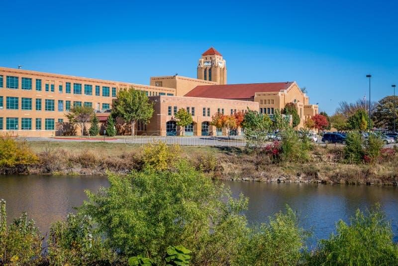 Wichita Κάνσας στοκ εικόνες με δικαίωμα ελεύθερης χρήσης