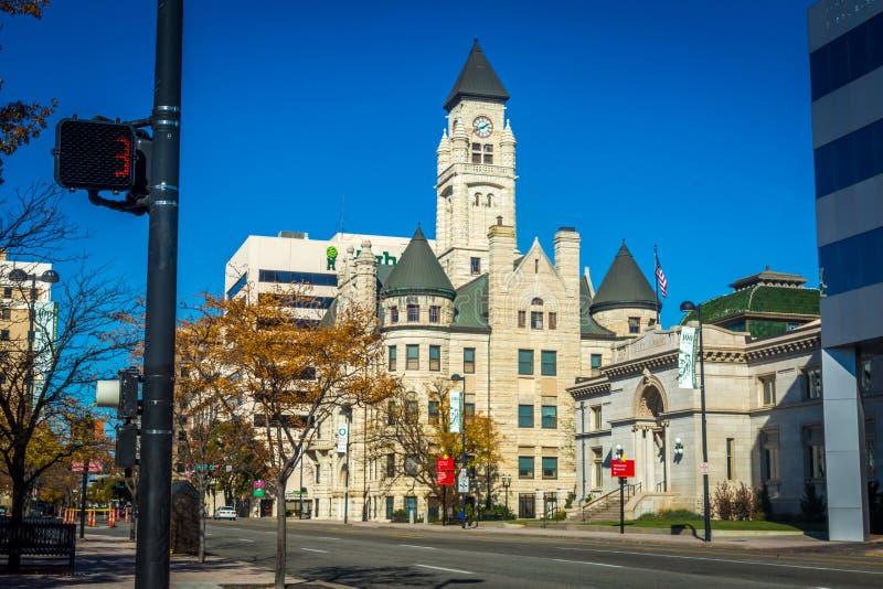 Wichita Κάνσας στοκ φωτογραφία με δικαίωμα ελεύθερης χρήσης