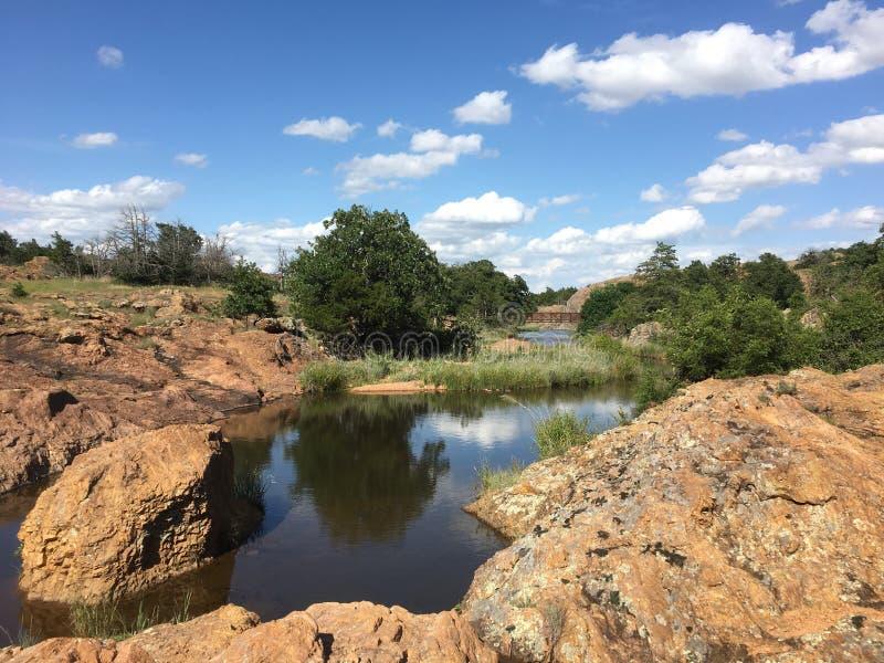 Wichita gór rezerwat dzikiej przyrody obraz stock
