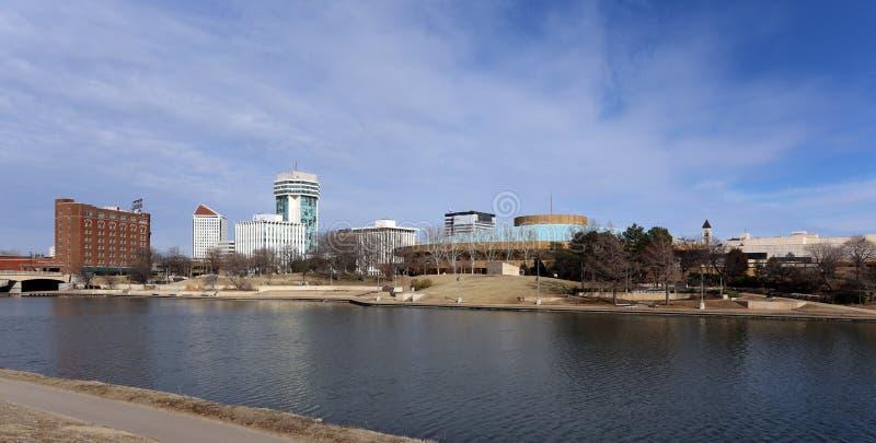 Wichita Kansas stock afbeelding
