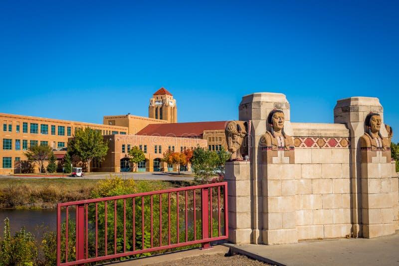Wichita Kansas royalty free stock images