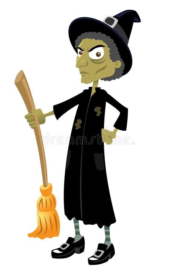 The Wicked Witch stock illustration