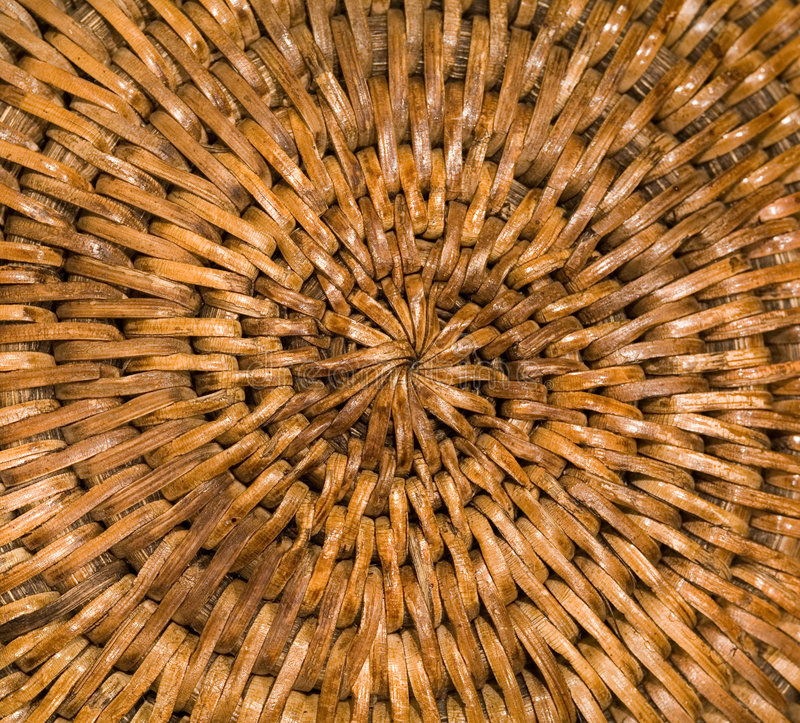 Download Wicker stock image. Image of round, brown, basket, weave - 499343