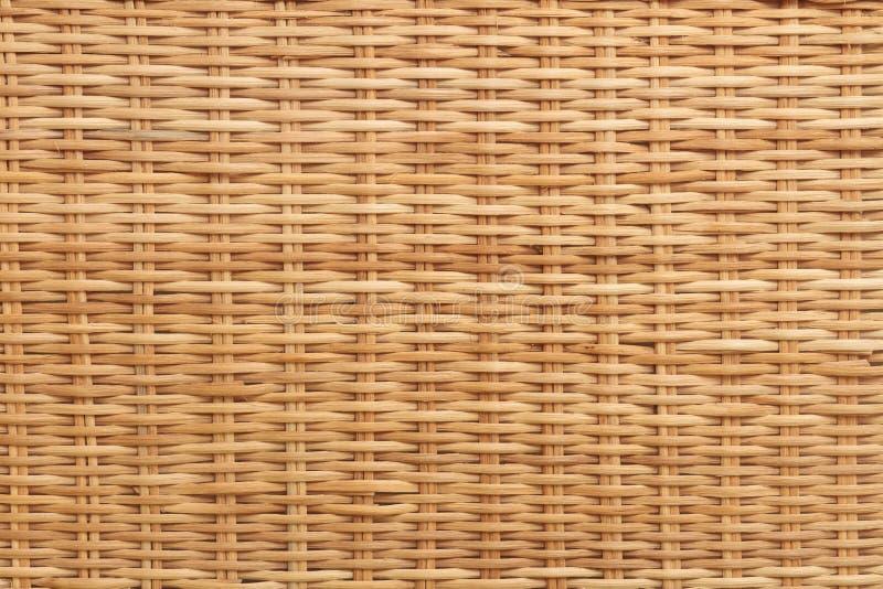 Wicker background stock image