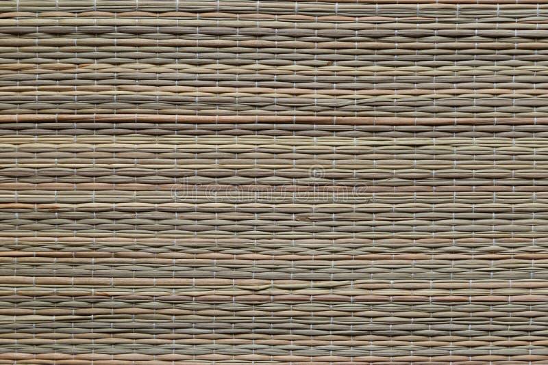 Wicker bamboo cloth, texture. Background, macro stock photography