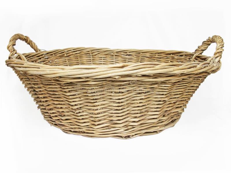 Wicker basket stock images