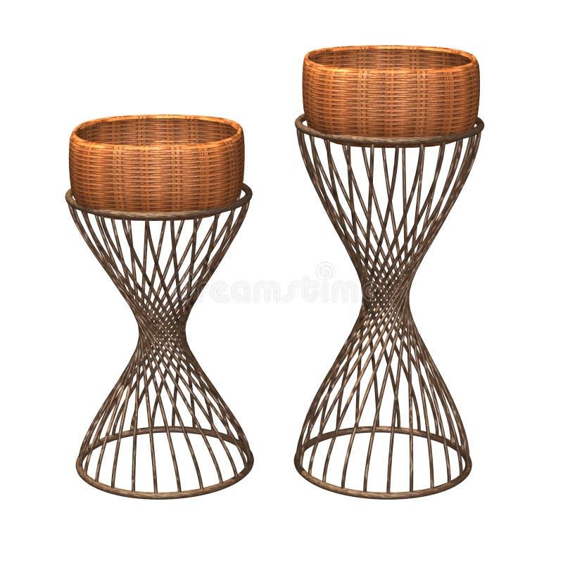 display stand basket