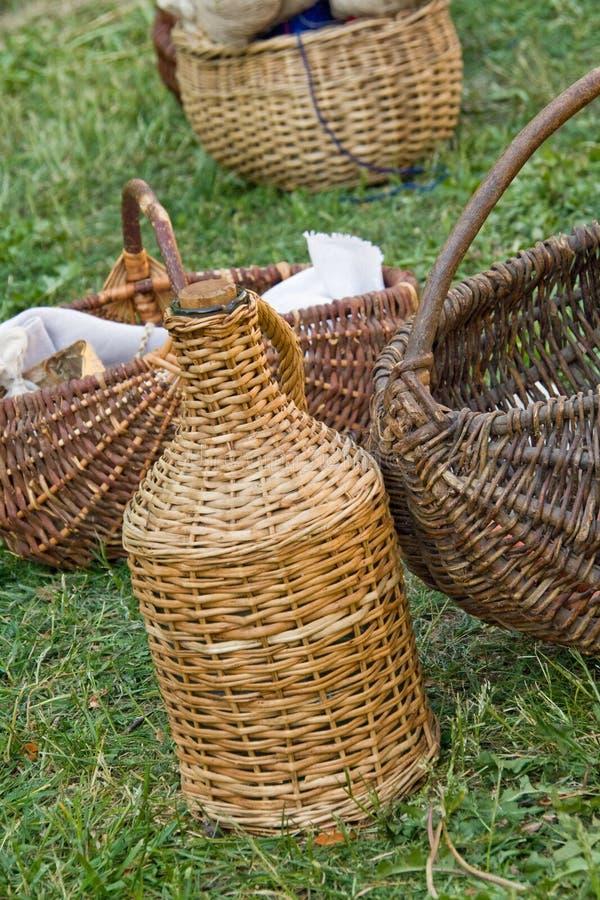 Download Wicker baskets stock image. Image of wickerware, historic - 5644031