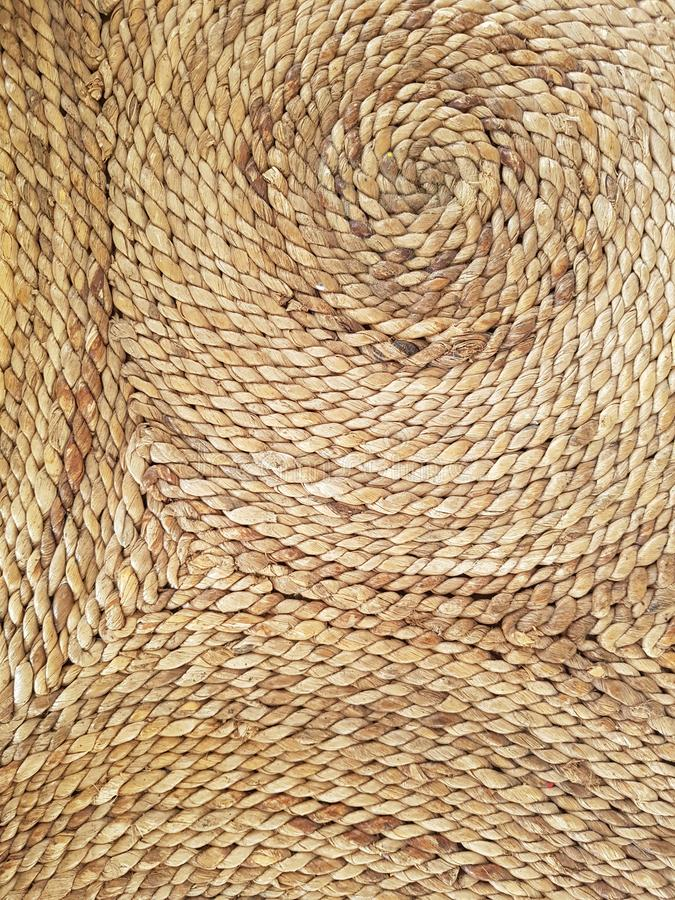 Wicker, braided, cane, wattled background royalty free stock photos