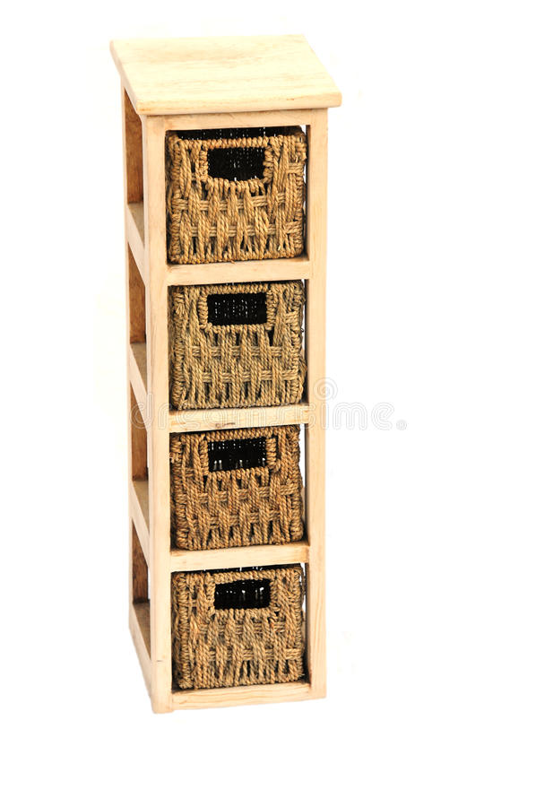 Download Wicker drawers stock photo. Image of wood, small, wooden - 13449190