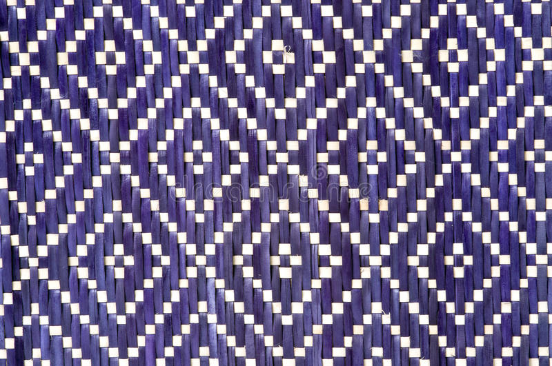 Wicker Pattern. From a real handmade box royalty free stock images